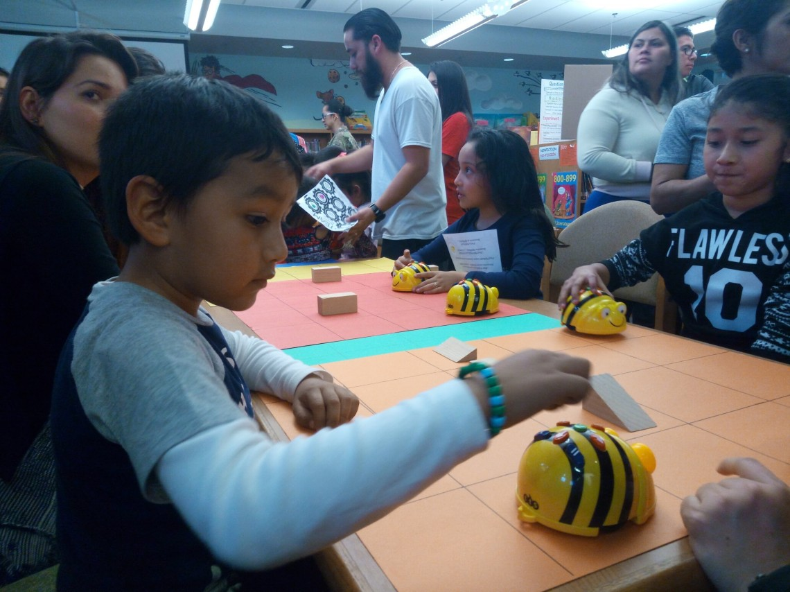 Learning to code with BeeBots