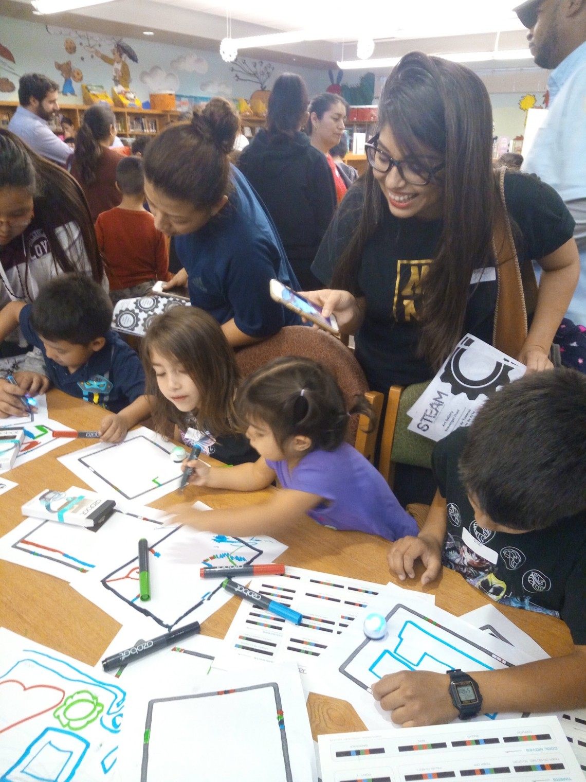 Learning to code with Ozobots